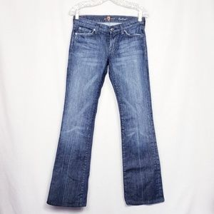 7 for all Mankind size 27 Bootcut Dark Wash Jeans